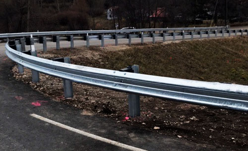 highway guardrail - Precision Highway Contractors