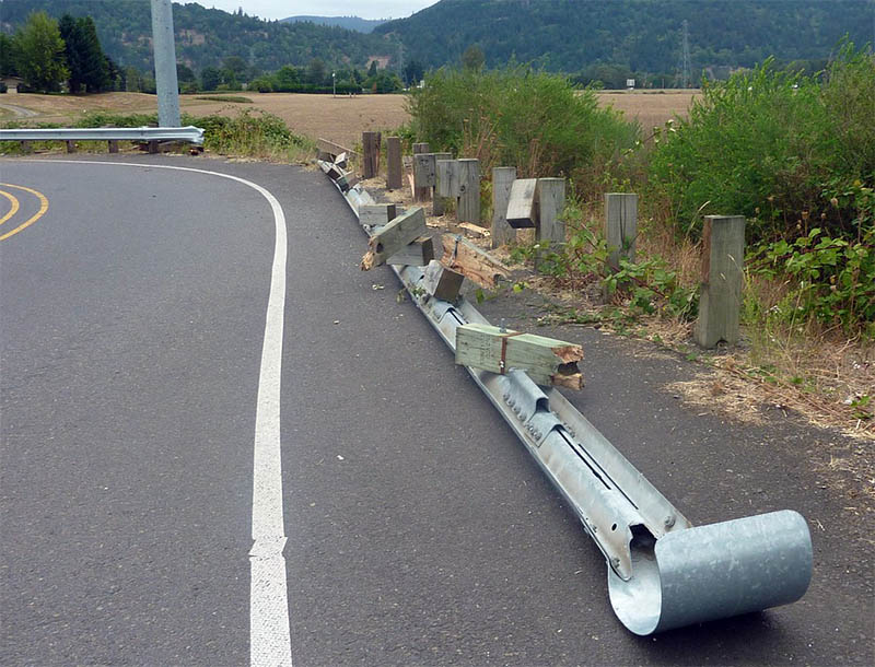 highway guardrail - Highway Guardrail: What is it's Purpose?